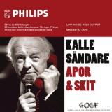 Kalle Sändare - Apor & Skit skivomslag